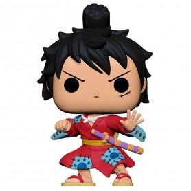 Figurine POP - One Piece - Luffy en Kimono