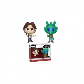 Pop VYNL Star Wars - 2-Pack Han Solo & Greedo - 10CM