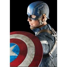 Captain America The Winter Soldier - statuette Captain America - 61CM