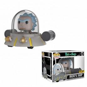 POP RIDES - RICK AND MORTY - RICK'S SHIP SPACE CRUISER