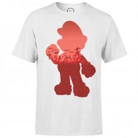 Nintendo T-Shirt Mario Silhouette