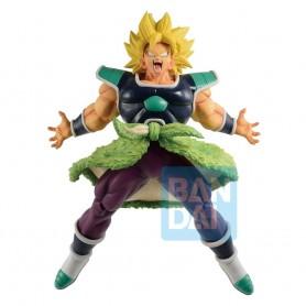 Dragon Ball Super statuette PVC Ichibansho Super Saiyan Broly Rising Fighters 24 cm