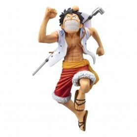 One Piece statuette PVC magazine Monkey D. Luffy Special Color Version 17 cm