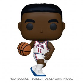 NBA Legends POP! Sports Vinyl figurine Isiah Thomas (Pistons Home) 9 cm
