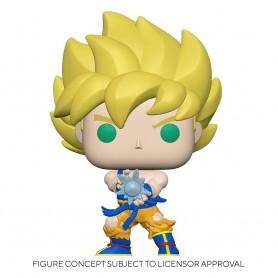 Dragon Ball Z Figurine POP! Animation Vinyl SS Goku w/ Kamehameha Wave 9 cm