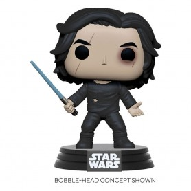 Star Wars Episode IX POP! Movies Vinyl Figurine Ben Solo w/Blue Saber 9 cm