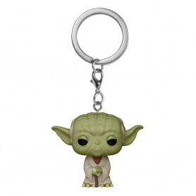 Star Wars présentoir porte-clés Pocket POP! Vinyl Yoda 4 cm (12)