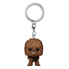 Star Wars présentoir porte-clés Pocket POP! Vinyl Chewbacca 4 cm (12)