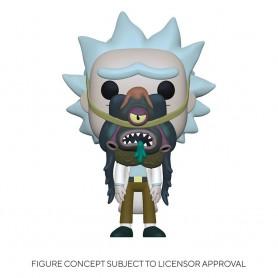 Rick & Morty POP! Animation Vinyl figurine Rick w/ Glorzo 9 cm
