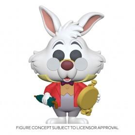 Alice au pays des merveilles Figurine POP! Disney Vinyl White Rabbit w/Watch 9 cm