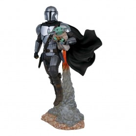 Star Wars The Mandalorian Milestones statuette 1/6 The Mandalorian & The Child 41 cm