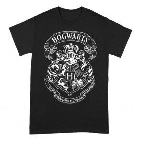 Harry Potter T-Shirt Hogwarts Crest (M)