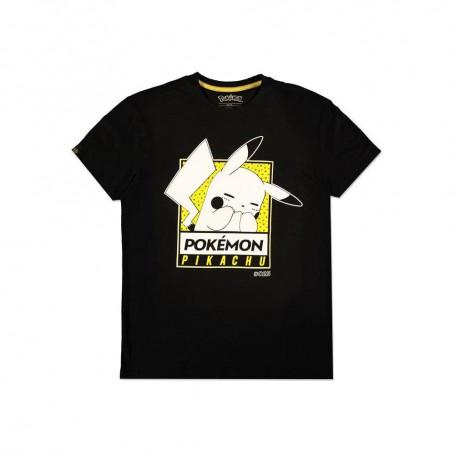 Pokémon T-Shirt Embarrassed Pika (S)