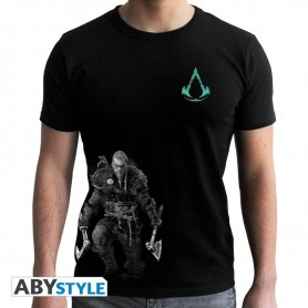 L-ASSASSIN'S CREED - Tshirt - Viking - homme MC black