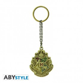 HARRY POTTER - Porte-clés 3D emblème Poudlard