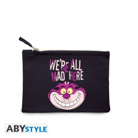 DISNEY TROUSSE A MAQUILLAGE BLEUE WE'RE ALL MAD HERE