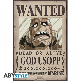 ONE PIECE - Poster Wanted Usopp New  52x35