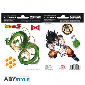 DRAGON BALL - Stickers - 16x11cm/ 2 planches - DBZ/ Shenron X5