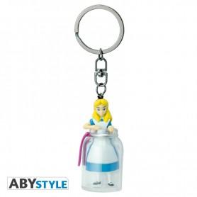 DISNEY - Porte-clés 3D Alice dans la bouteille
