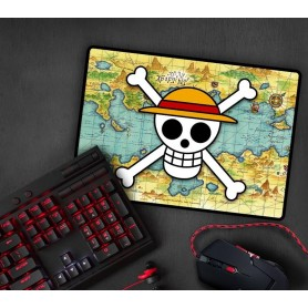 ONE PIECE - Tapis de souris gaming - Skull with map