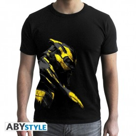 MARVEL - Tshirt Thanos Or homme MC black- new fit - Taille    XS