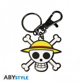 PC One pièce porte clés Skull-Luffy