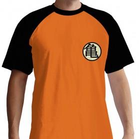 M-DRAGON BALL - Tshirt Kame Symbol homme MC orange - premium - Taille
