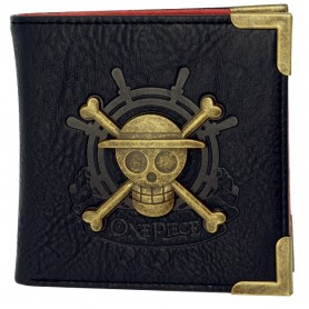 ONE PIECE - Portefeuille premium Skull