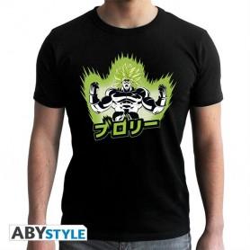 M-DRAGON BALL BROLY - Tshirt DBS/ Broly homme MC black - New Fit -
