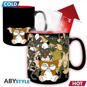 GREMLINS - Mug Heat Change - 460 ml - Ne pas mouiller - avec boîte