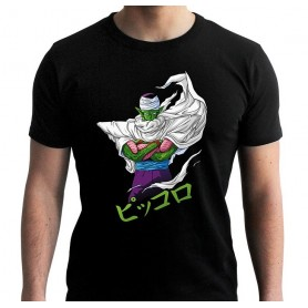 DRAGON BALL - Tshirt DBZ/ Piccolo homme MC black - new fit - Taille