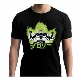 XL-DRAGON BALL BROLY - Tshirt DBS/ Broly homme MC black - New Fit