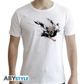MARVEL - Tshirt Spider-Man Encre homme MC white - new fit - Taille S