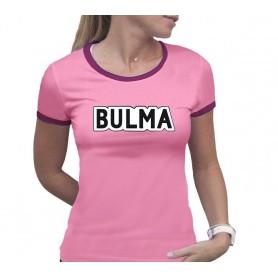 S-DRAGON BALL - Tshirt Bulma femme MC rose - premium