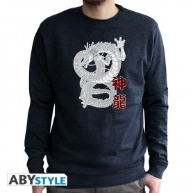 M-DRAGON BALL  - Sweat vintage - Shenron homme used navy - Taille : M