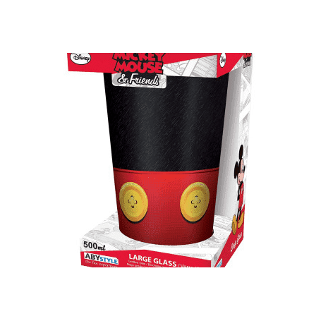 DISNEY - Verre XXL - 460 ml - Mickey - Mate