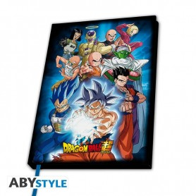 DRAGON BALL SUPER CAHIER A5 GROUPE UNIVERS 7