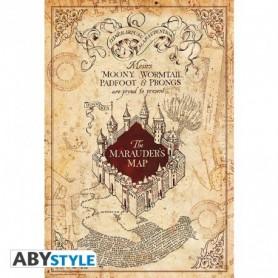 HARRY POTTER Poster « Carte du Maraudeur »
