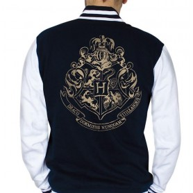"HARRY POTTER Teddy ""Poudlard"" homme navy/white"