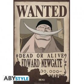 "ONE PIECE Poster ""Wanted Edward Newgate"""