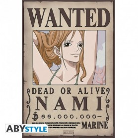"""ONE PIECE Poster """"Wanted Nami New"""""""