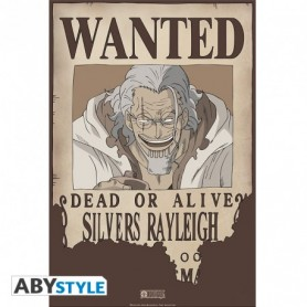 """ONE PIECE Poster """"Wanted Rayleigh"""""""