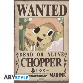 ONE PIECE POSTER WANTED CHOPPER NEW