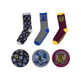 Harry Potter pack 3 paires de chaussettes Golden Snitch