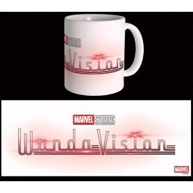 Marvel mug Wandavision Logo