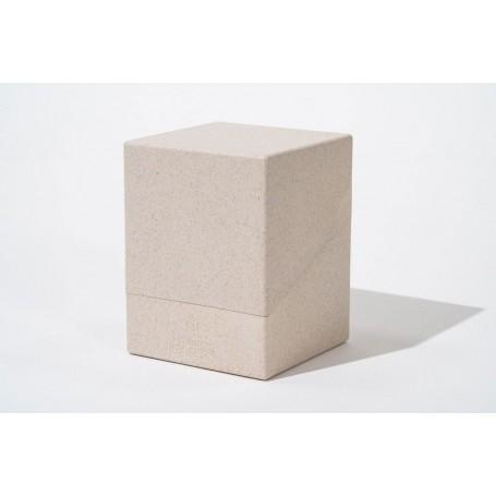 Ultimate Guard Return To Earth Boulder Deck Case 100+ taille standard Natural