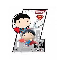 PLASTOY-PORTE-CLEFS-CHIBI-SUPERMAN