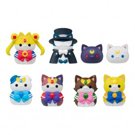 Sailor Moon Mega Cat Project assortiment trading figures 3 cm Sailor Mewn (8)