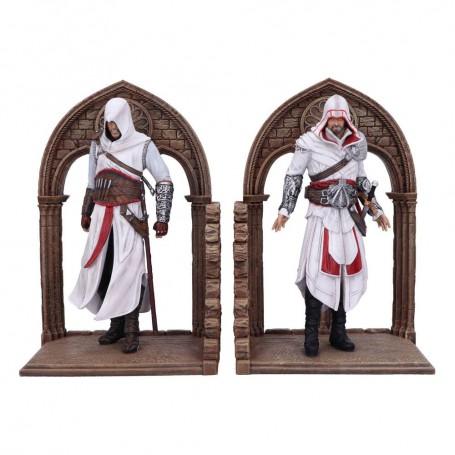 Assassin's Creed serre-livres Altair and Ezio 24 cm