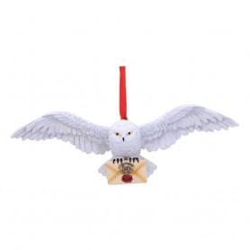 Harry Potter décorations sapin Hedwig (carton de 4)